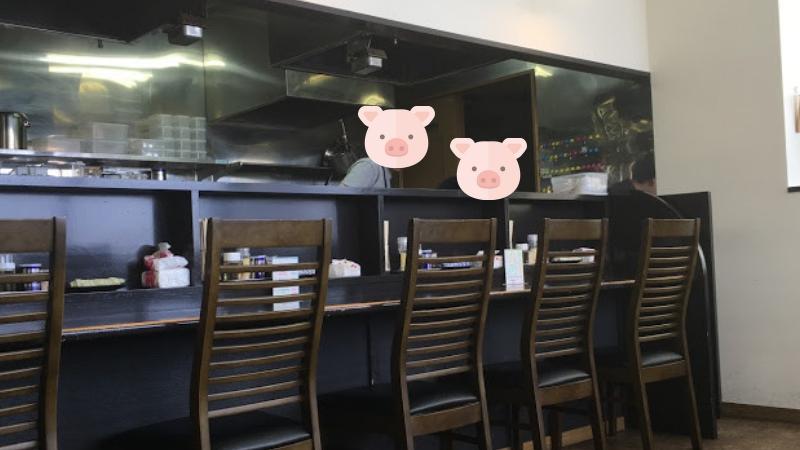 麺屋満開の内観