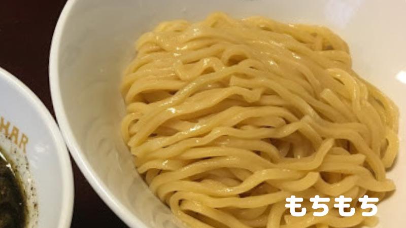 シーハーのつけ麺:麺アップ画像